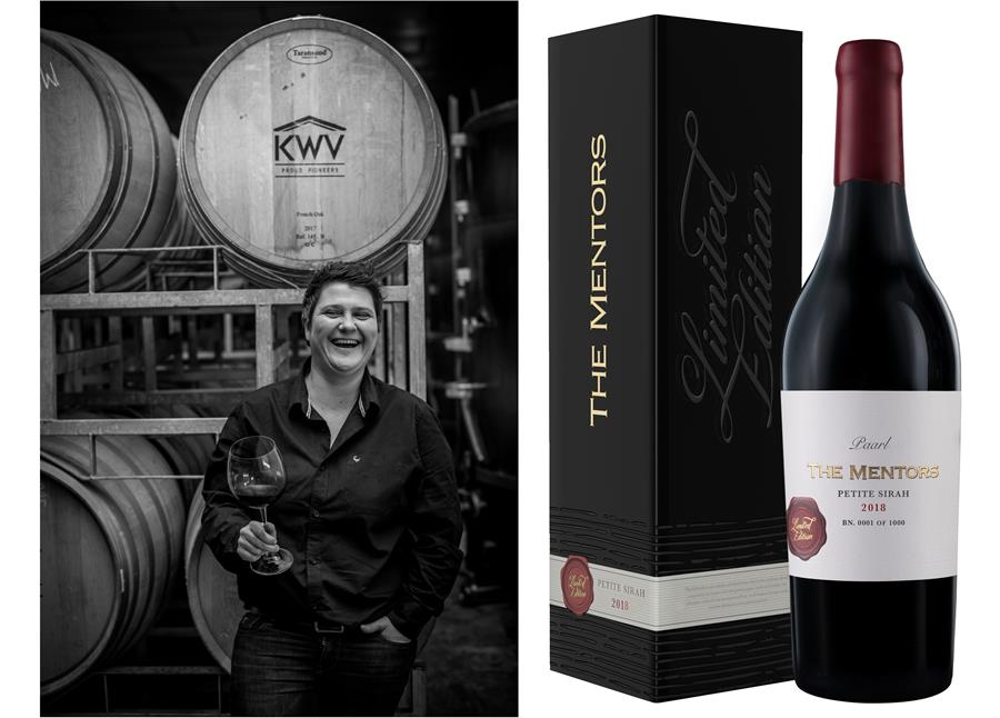 Kwv's New Mentors Petite Sirah Joins once-off Elite Wine Series