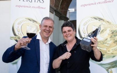 Eyes to the sky, feet on the ground:  KWV humbled by receiving Veritas Vertex and Top Achieving Cellar Awards