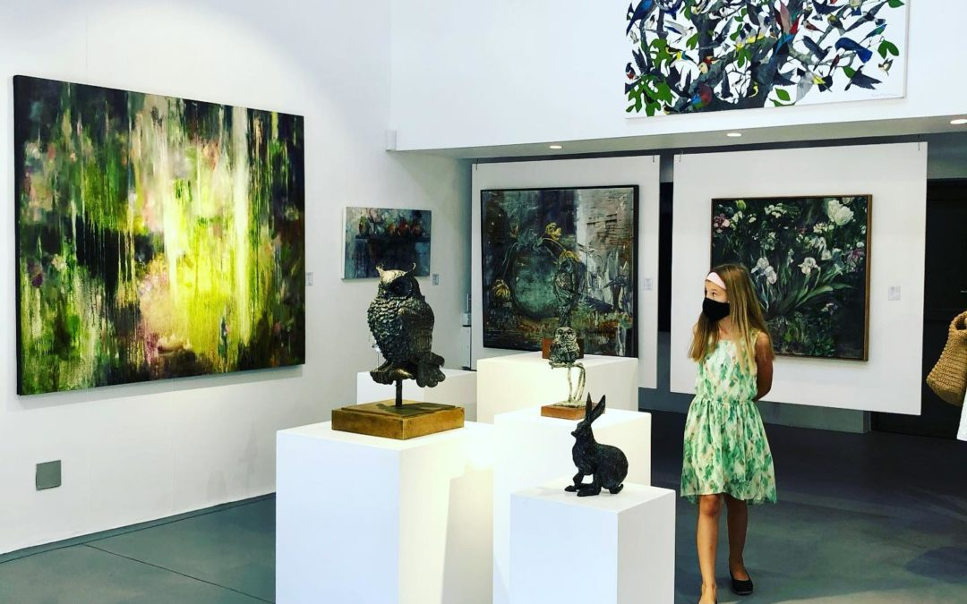 Diving Deep & Flying High A solo  exhibition by Helen van Stolk