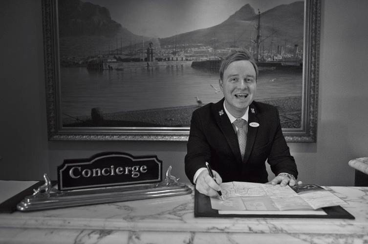 Head Concierge – The Table Bay – Your Cape Town go-to guy awaits