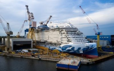 Norwegian Prima Marks Float Out