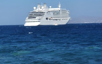 It's the million little things…  Cruising on the new Silver Moon in Greece
